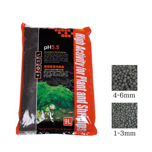 خاک و کود بستر ایستا PH 5.5